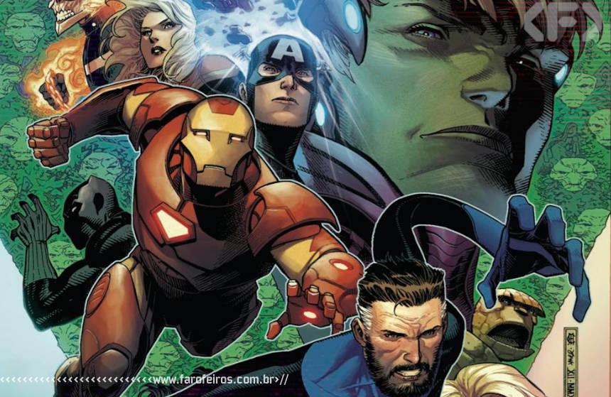 Vingadores - Quarteto Fantástico - Preview de Empyre #1 - Marvel Comics - Blog Farofeiros