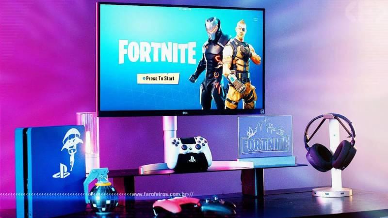 Tá caro ser gamer - PS$ Fortnite setup - Blog Farofeiros