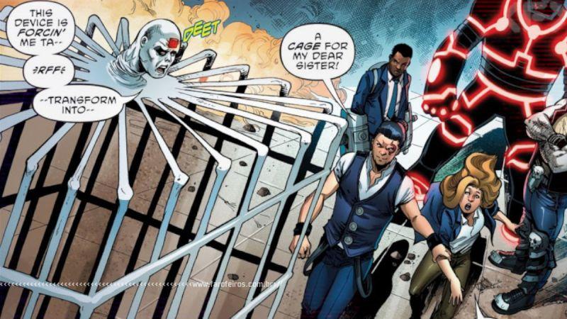 Metamorfo Jaula - Terrifics #30 - Outra Semana nos Quadrinhos #27 - Blog Farofeiros