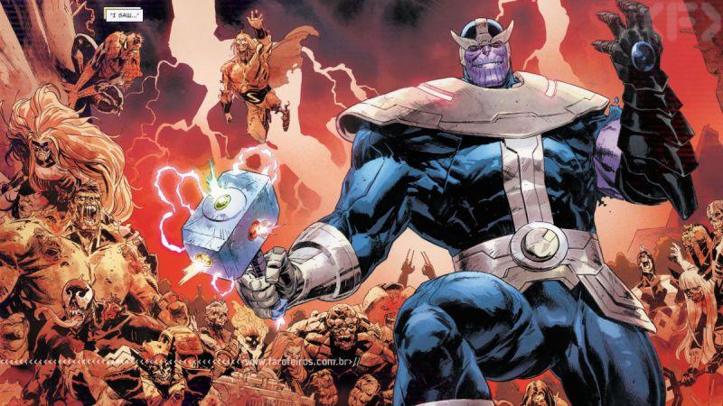Thanos - Mjolnir do Infinito - Thor #6 - Outra Semana nos Quadrinhos #27 - Blog Farofeiros