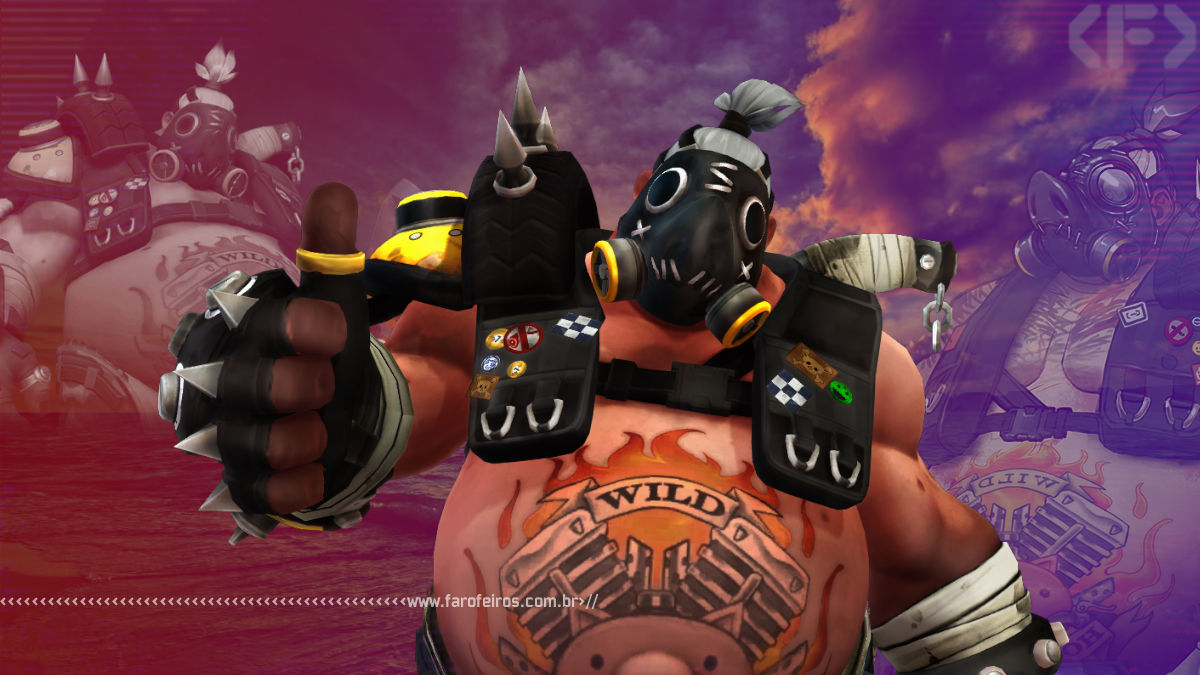 A cara real do Roadhog - Overwatch - Blog Farofeiros