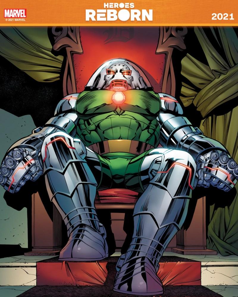 Dr Fanático - Heroes Reborn 2021 - Heróis Renascem de novo em 2021 - Blog Farofeiros