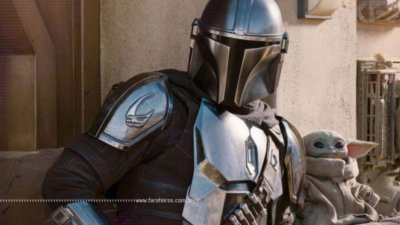 Star Wars - The Mandalorian é melhor que os filmes - 2 - Din Djarin e Grogu - Blog Farofeiros