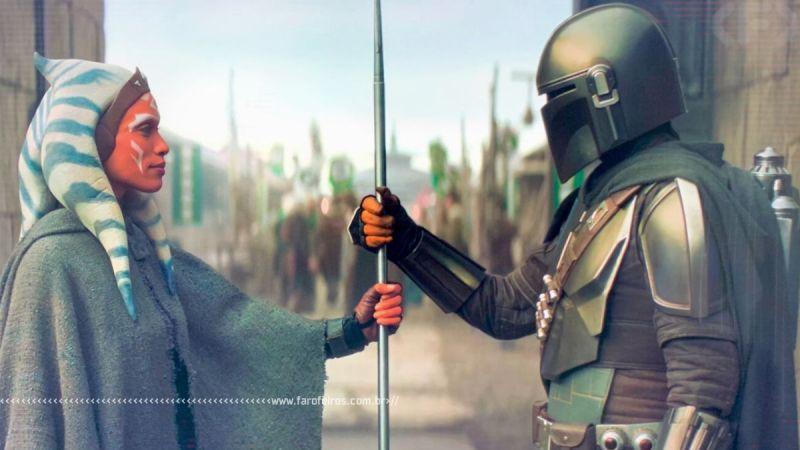 Star Wars - The Mandalorian é melhor que os filmes - 6 - Mando e Ahsoka - Blog Farofeiros