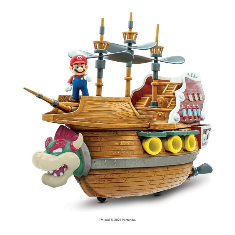 Barco do Bowser - Super Mario - Blog Farofeiros