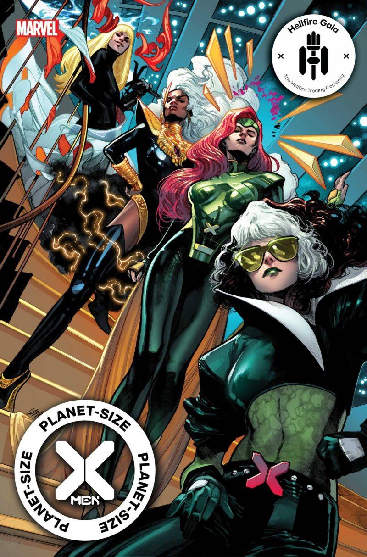 Planet-Size X-Men #1 - Hellfire Gala - A noite de Gala do Clube do Inferno em X-Men - Blog Farofeiros
