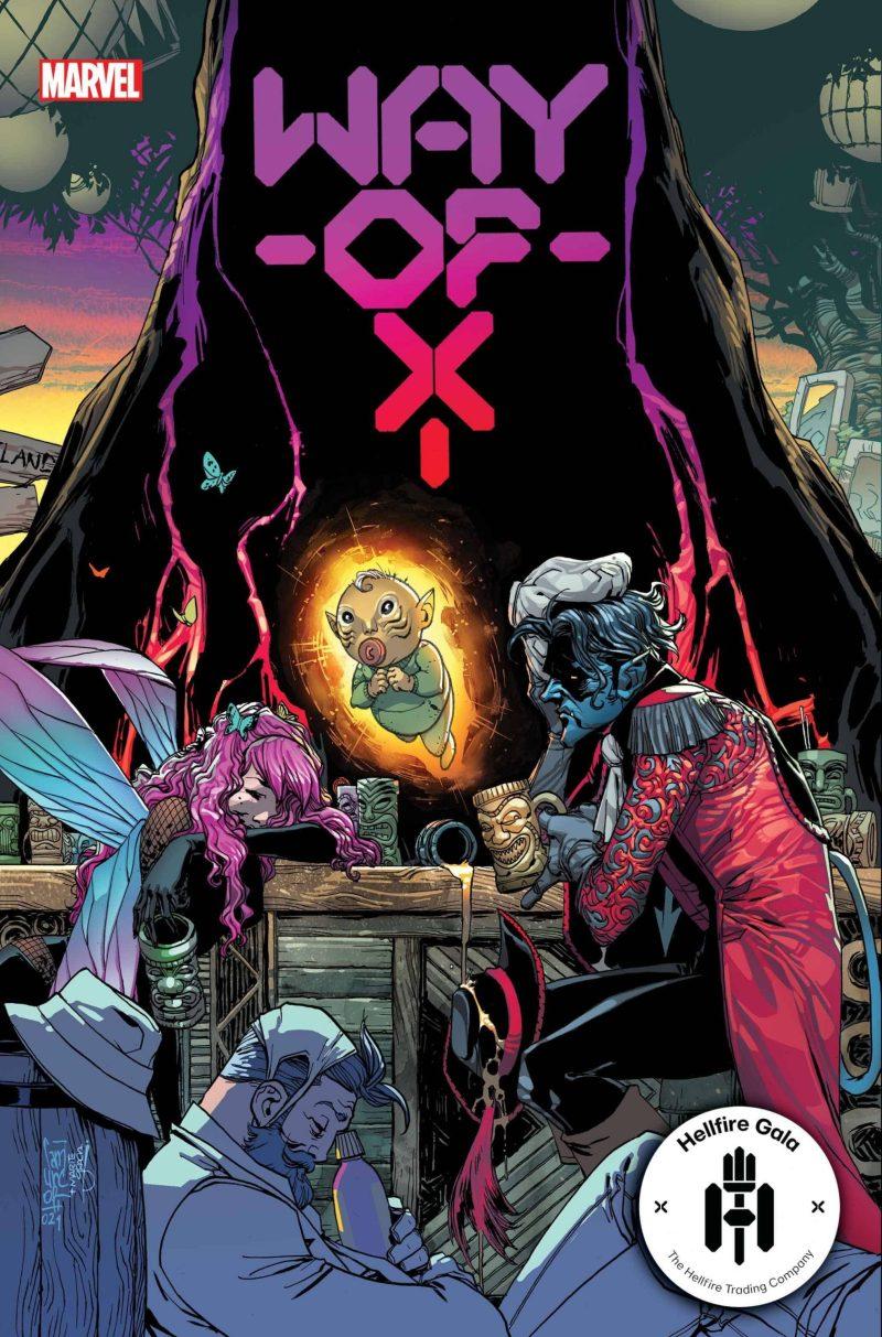 Way of X #3 - Hellfire Gala - A noite de Gala do Clube do Inferno em X-Men - Blog Farofeiros