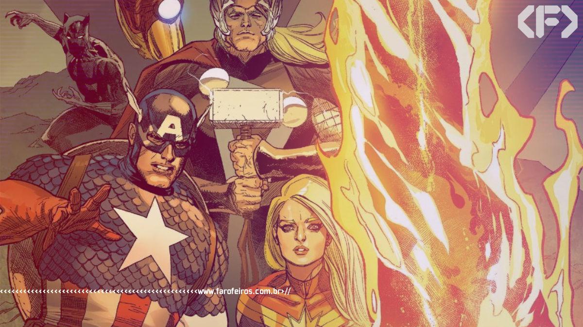 A nova Fênix da Marvel Comics - Vingadores - Eco - Blog Farofeiros - Avengers #44