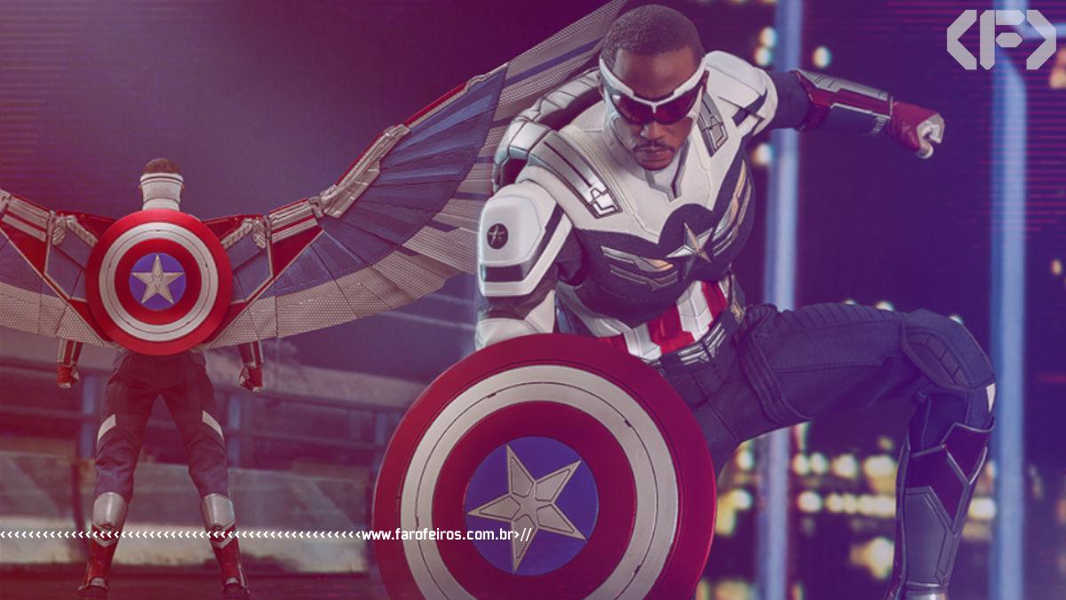 Novo Capitão América da Hot Toys de Falcão e o Soldado Invernal - Marvel Studios - Blog Farofeiros
