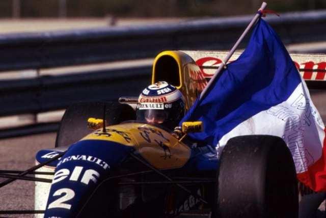 Em 1993, a bordo da fabulosa Williams, o quarto título mundial (Reuters)