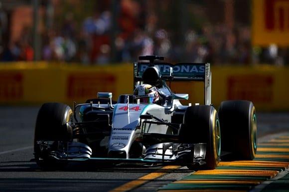 Mercedes de Hamilton, domínio da Austrália prevê-se ser bem mais contundente do que fora em 2014 (Getty Images)
