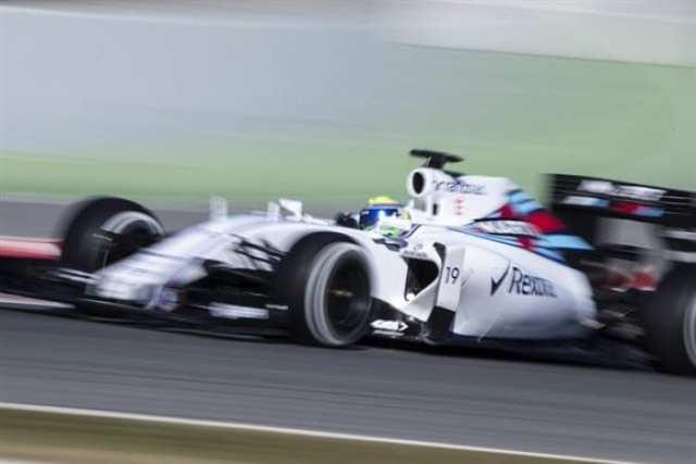 Massa acelera o Williams, o carro que deve chegar mais perto da Mercedes em 2015 (Xavi Bonilla/Grande Prêmio)