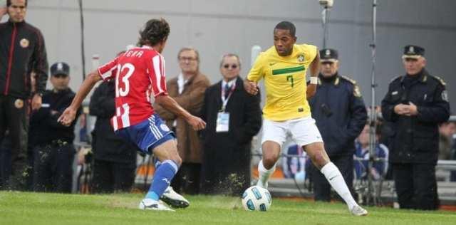 Contra o Paraguai, Brasil 72 jogos, venceu 45, perdeu 10 e houve 17 empates (Assessoria CBF)