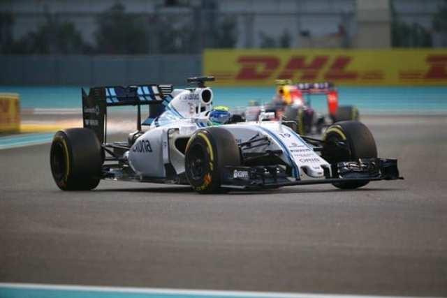 Massa teve corrida apagada, mas salvou o oitavo posto (posição que largou) com boas ultrapassagens (Getty Images)