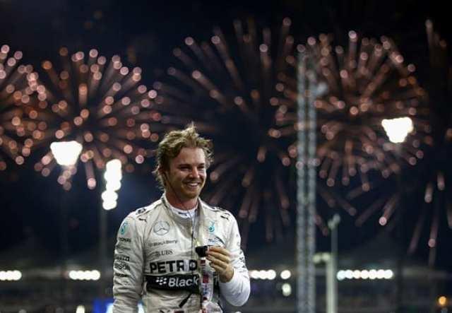 Rosberg: Vice-campeão, em alta e o último vencedor de 2015. Um ano para esquecer em matéria de emoção na F1 (Getty Images)
