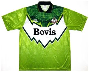 Good, Bad and Ugly kits from the past - Oldham Athletic - Far Post Header