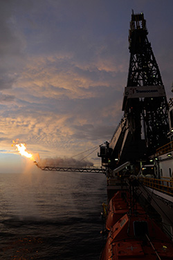 Oil Rig Platform at Sunset | BP Oil Spill Claims and the Unlicensed Practice of Law | Farr Law | Serving Southwest Florida (image)