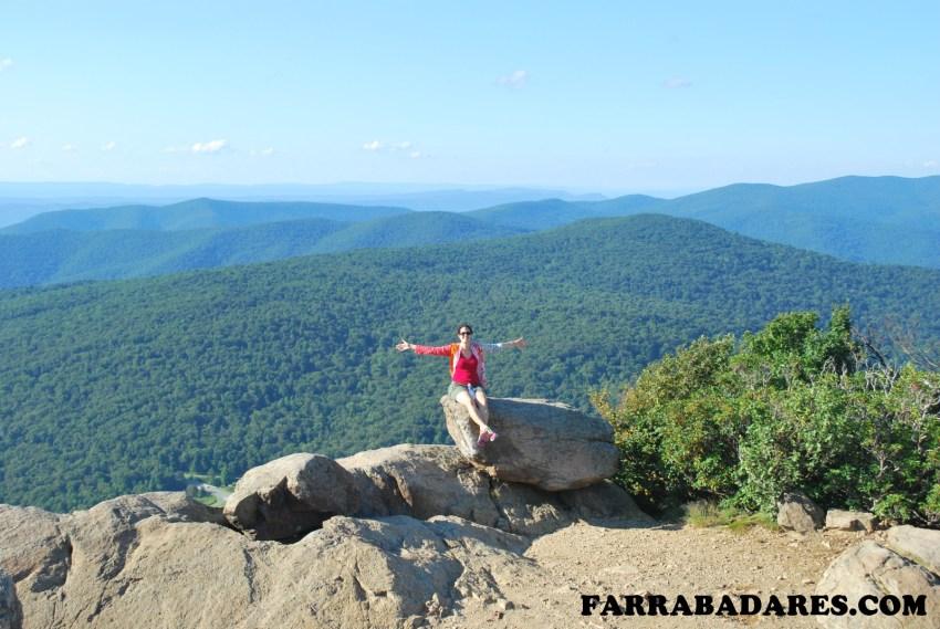 Shenandoah National Park - Mary´s Rock summit
