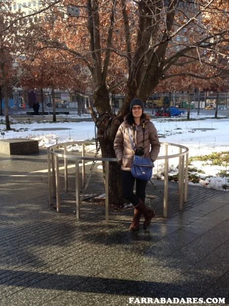 09/11 Memorial, a árvore sobrevivente - Nova York