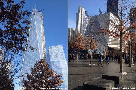 09/11 Memorial, Freedom Tower e o futro museu - Nova York
