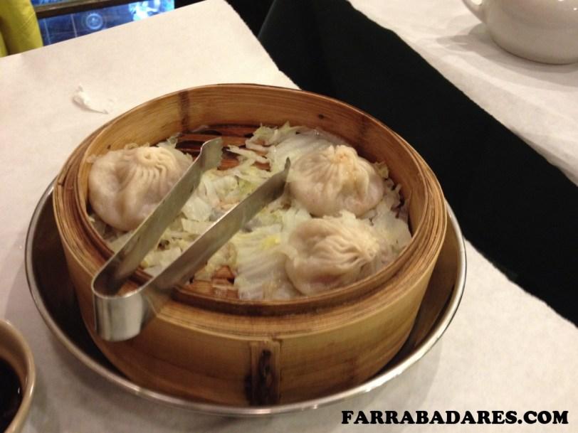 O famoso dumplings do Joe´s Shangai