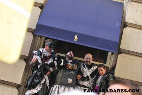Mummer´s Parade 2014 - foliões e espectadores