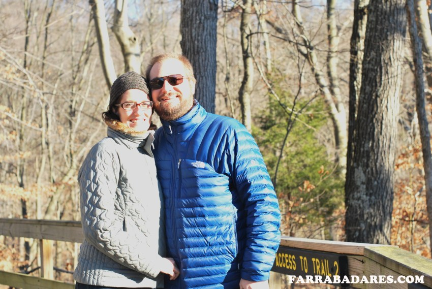 Rafa e eu - Clifty Falls State Park