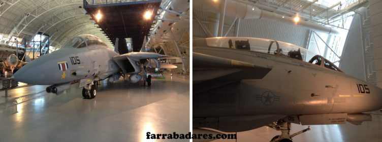 F-14 - Air and Space Museum em Chantilly