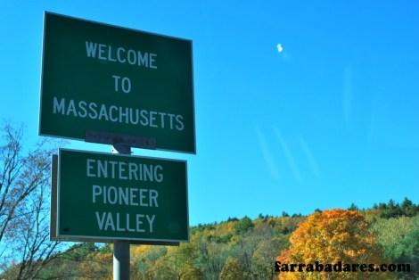 Entrando em Massachusetts