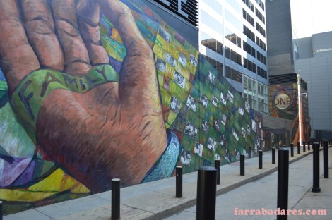 Philadelphia mural - Finding Home - parede lateral