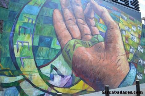 Philadelphia mural - Finding Home