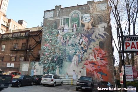 Philadelphia mural - Women of Progress