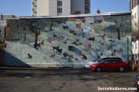 Philadelphia Mural - Gimme Shelter