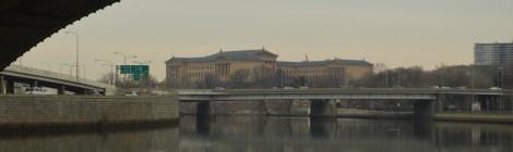 O distrito dos museus na Philadelphia
