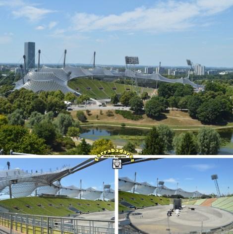 Olympiapark, Estádio Olímpico - Munique