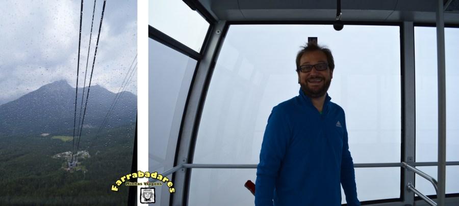 A subida ao pico do Zugsptize foi literalmente nas nuvens!!
