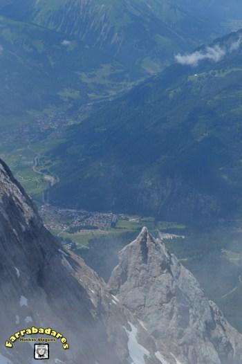 No topo do Zugsptize