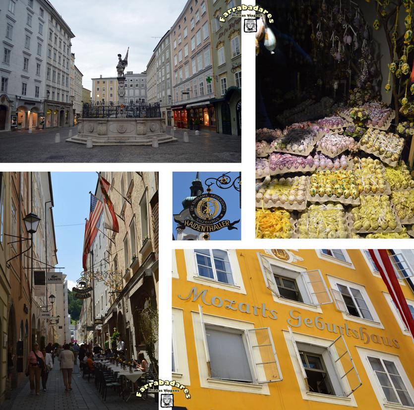 Salzburgo - cidade velha