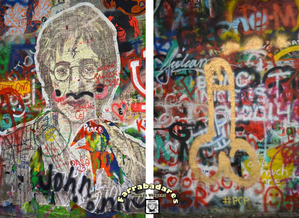 John Lennon wall em Praga