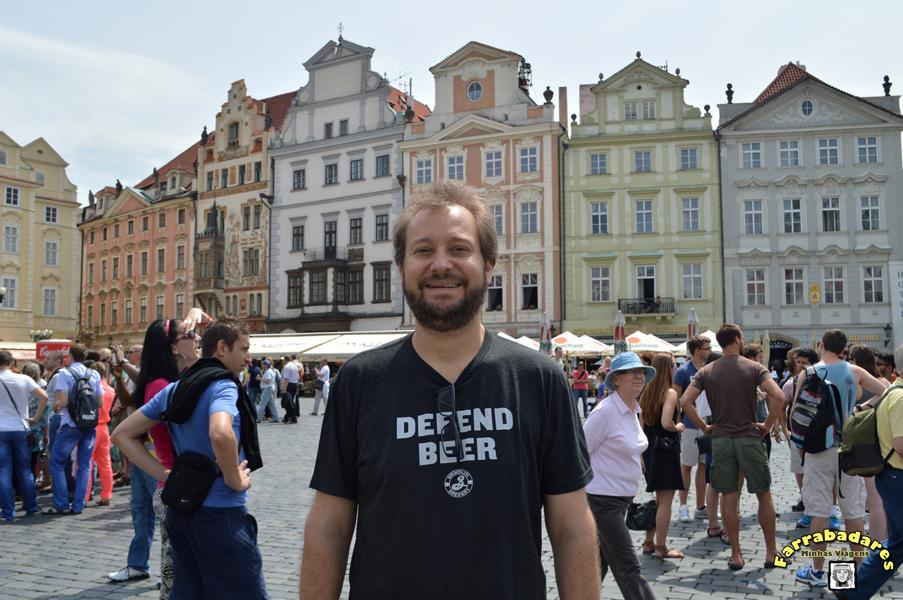 Praga - Praça da Cidade Velha (Staromestske namesti).
