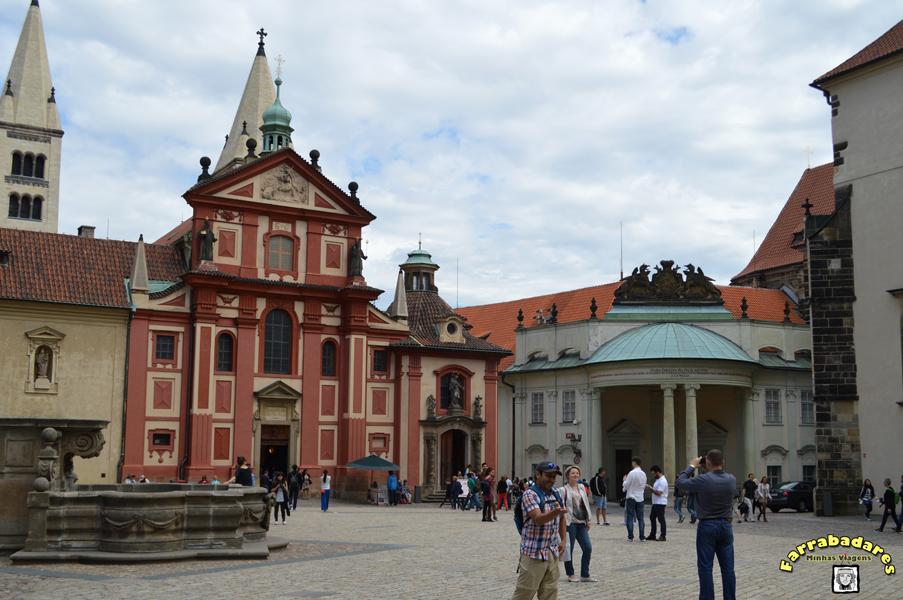 Castelo de Praga - Basílica de São Jorge