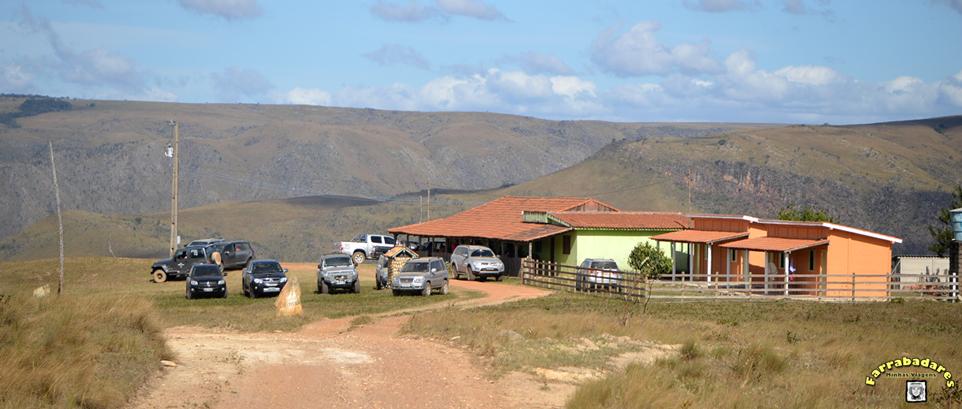 Serra da Canastra - restaurante no topo do Morro do Carvão