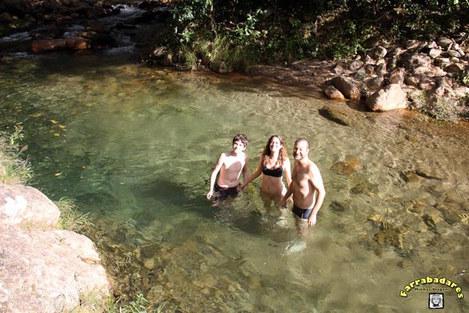 Serra da Canastra - piscina natural do Seu Zezito