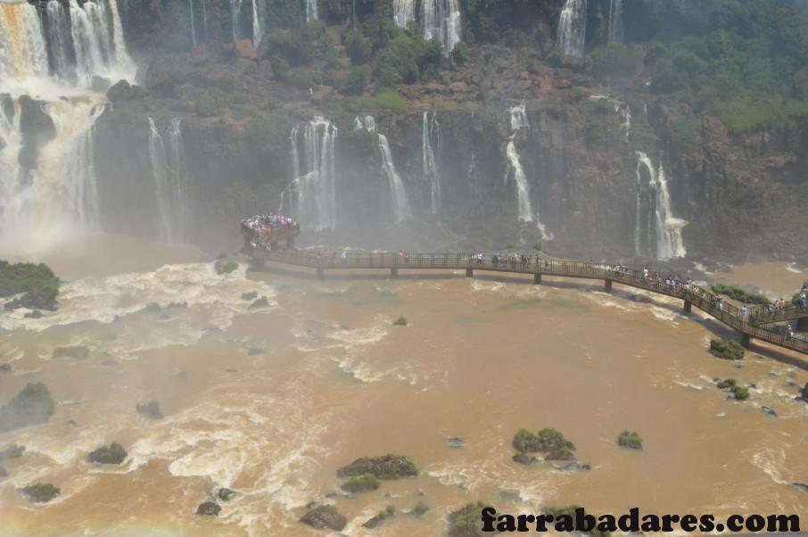 Parque Nacional do Iguaçu - Passarela de acesso a Garganta do Diabo