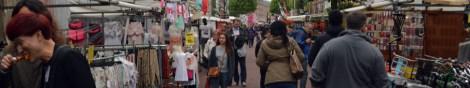 Pelas ruas de Amsterdam