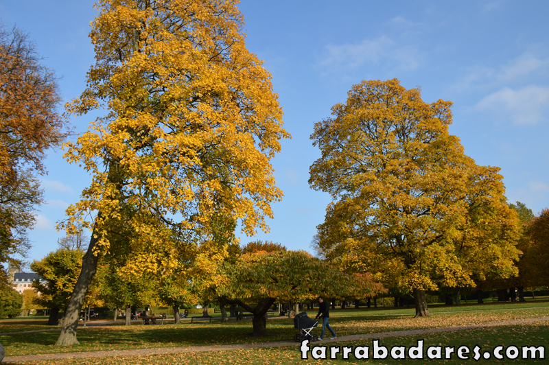 Copenhague - Castelo Rosenborg - Jardim Real