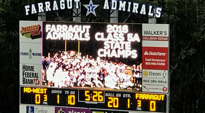 Out With the Old, In With the New…Scoreboard Style