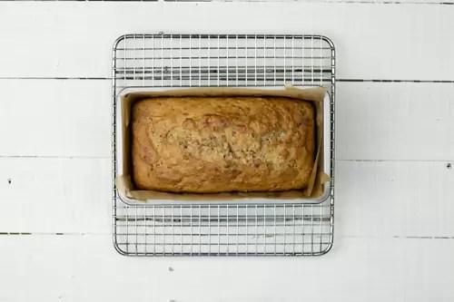 food waste banana bread