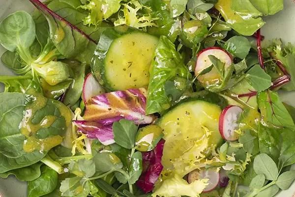 farrington's mellow yellow classic vinaigrette salad