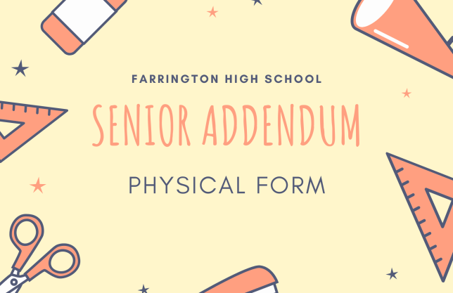 Senior Addendum Physical Form